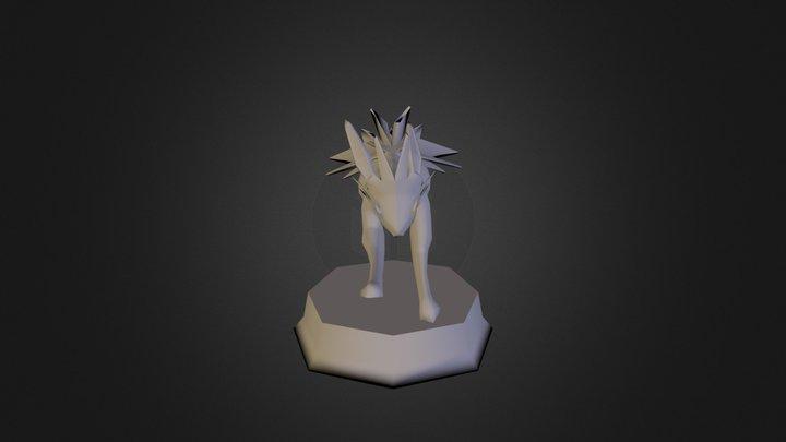 Final Project Jolteon 3D Model