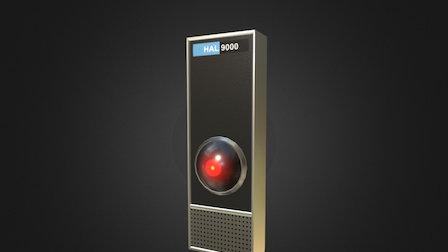 Hal-9000 3D Model