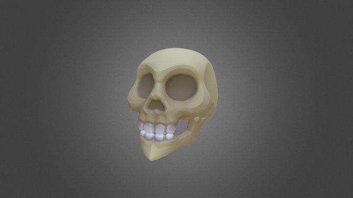 Villainous Skull 3D Model