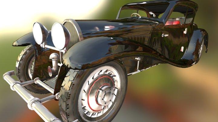 WIP Bugatti 50t update 2 3D Model