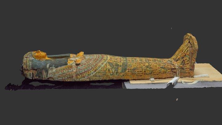 But-Har-Chonsu´s Sarcophagus Lid 3D Model