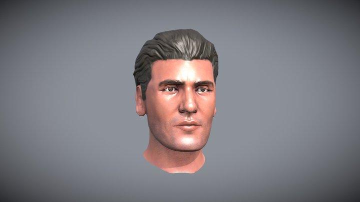 Oscar Isaac Model 3D Model