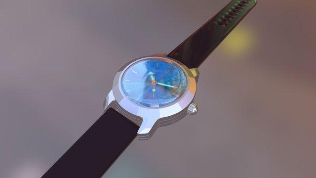 Dressy Sport Watch 3D Model