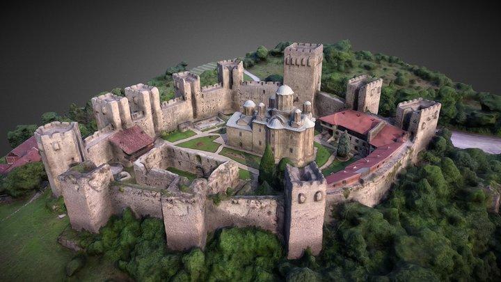Manasija (Resava) Monastery 3D Model