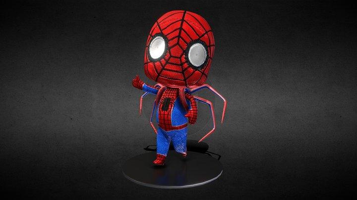 Spider-Man Chibi 3D Model