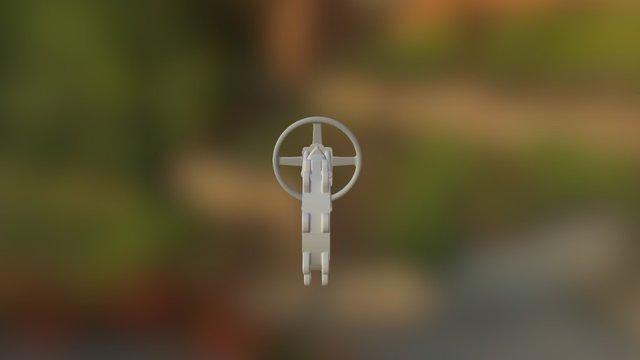 "Keystone 6"" PCS17 Knife Gate 3D Model"