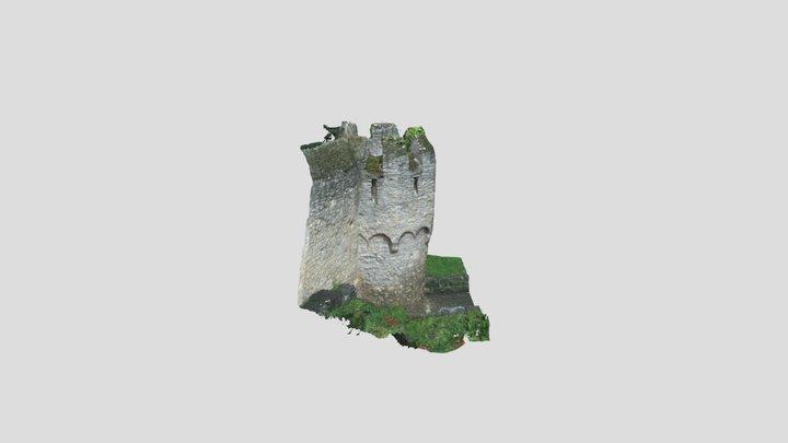 [SfM] Ortsbefestigung Ober-Ingelheim, Turm T15 3D Model