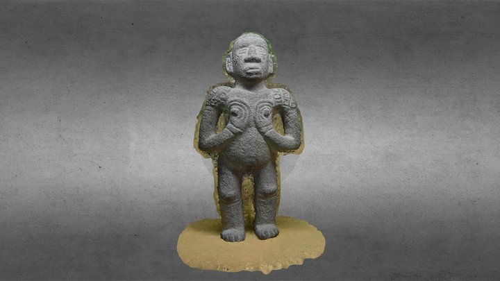 Stone Female Figurine