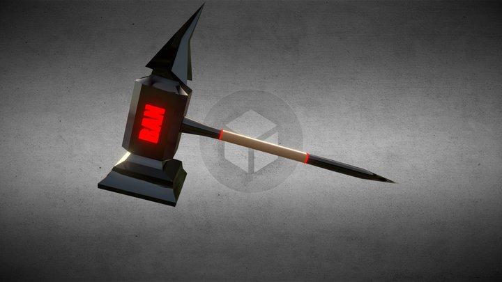 Ban Hammer 3D Model