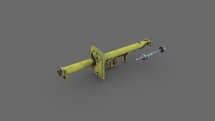 Panzerschreck 3D Model