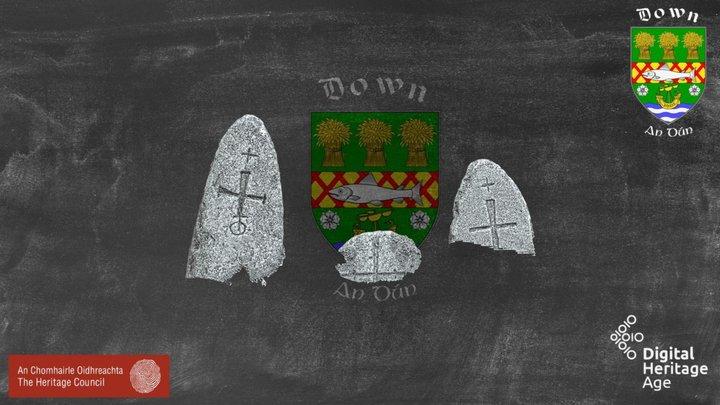 DOW047:042 - Coptic Stones 3D Model