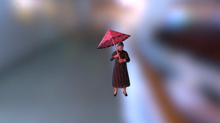 Señora 3D Model