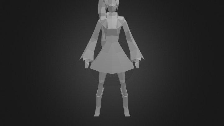 Weiss Schnee(Low-Poly) 3D Model