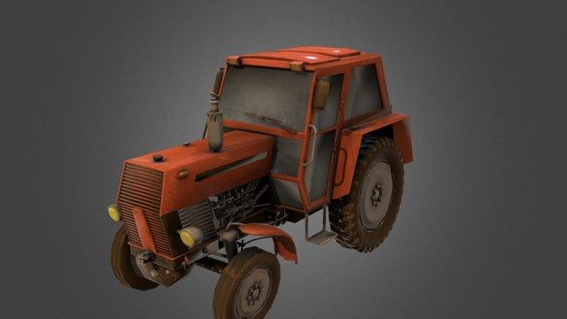 Tracor 3D Model