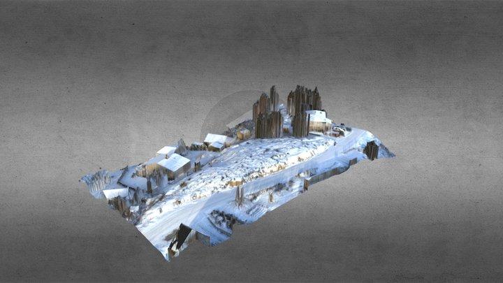 Østbyåsen 3D Model