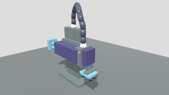 Vaccuum Grabber Station 3D Model