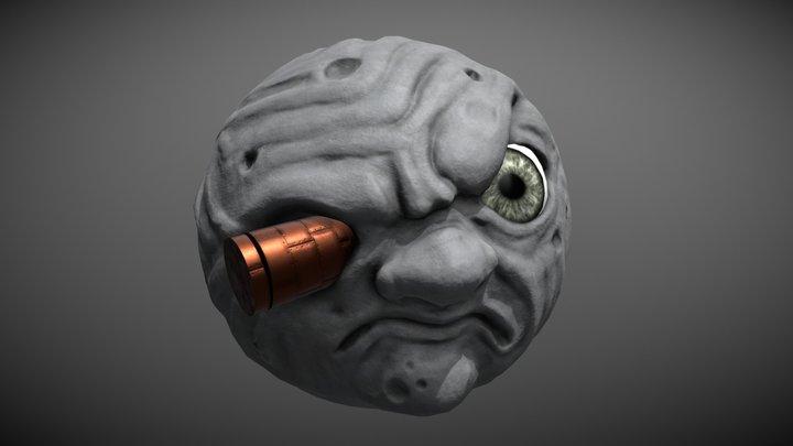Méliès Moon 3D Model