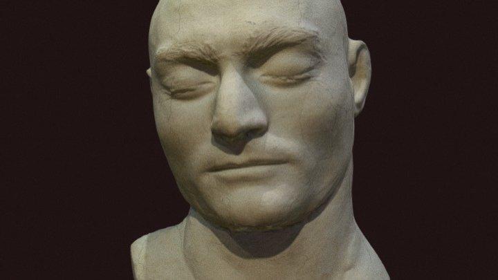 Ned Kelly's death mask 3D Model