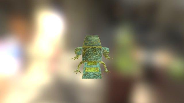 Stapler Frog 3D Model