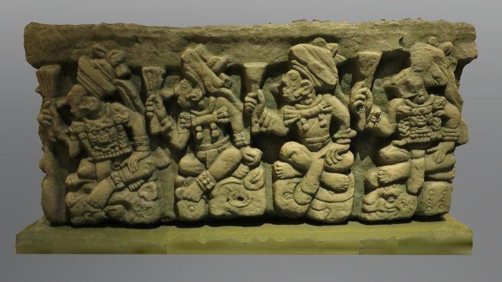 Mayan Altar 3D Model