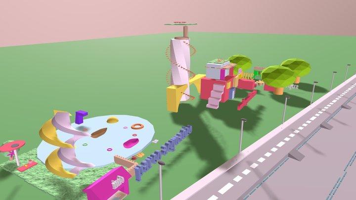 PRJ - Parchi Divertimenti 3D Model