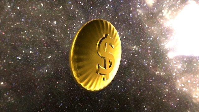 Moneycoin 3D Model