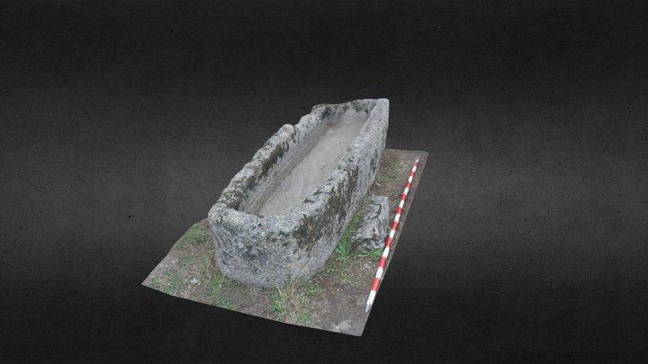 Tumba antropomórfica El Rebollar 3D Model