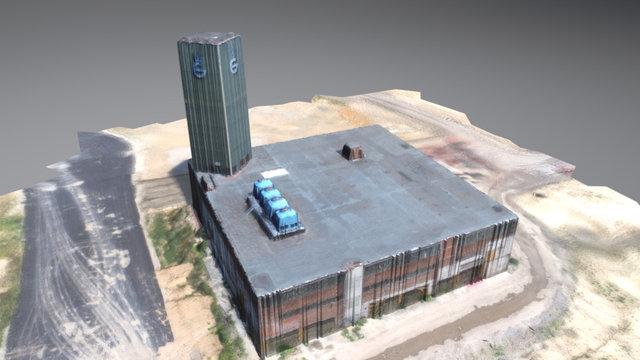 Gerresheimer Glasmacherturm 3D Model