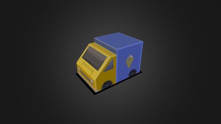 Tiny Truck 3D Model