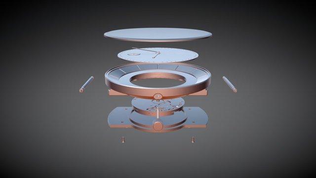 GANEADESIGN WATCH CONCEPT 3D Model
