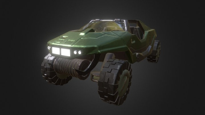 Halo - Warthog 3D Model