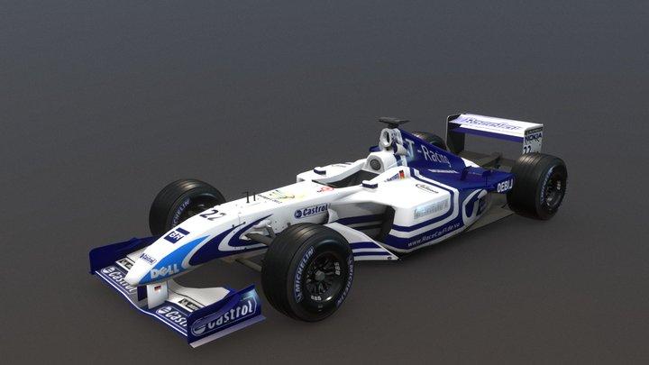 RaceCar RC-11 3D Model