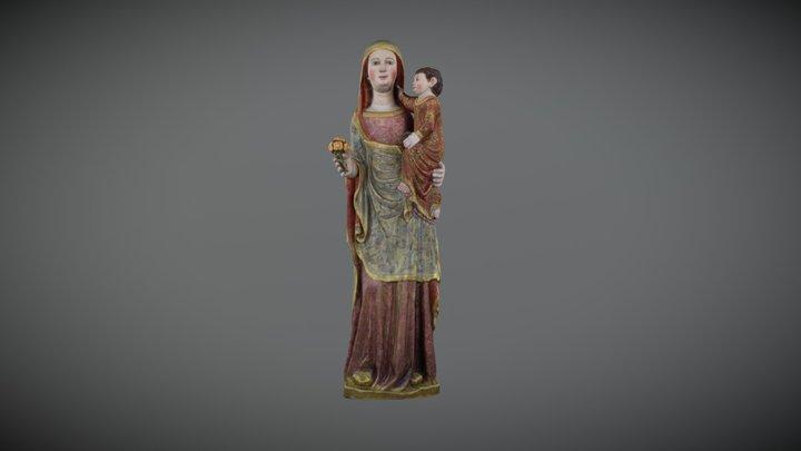 Virgen Corbera 3D Model
