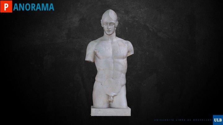 Arès Somzée (untreated raw version) 3D Model