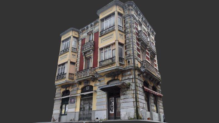 Old building - Delirius photogrammetry scan 3D Model