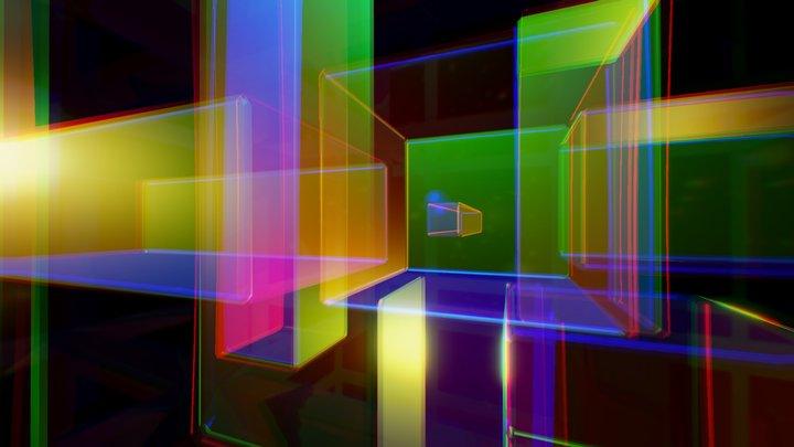 Shades of light 3D Model