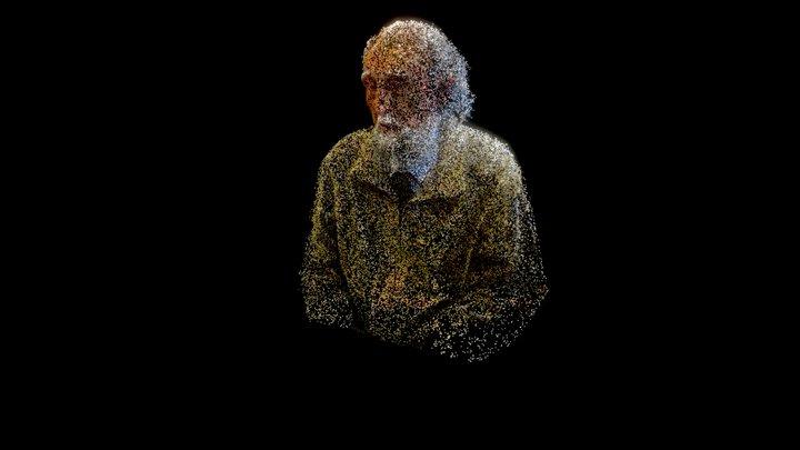 Holograma Gastón Soublette 3D Model