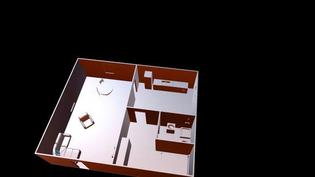Apart Test 3D Model
