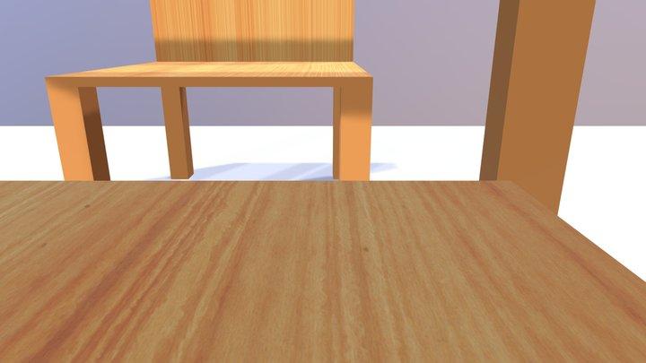 Dinner Example 3D Model