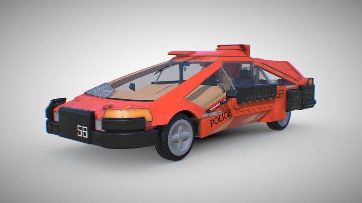 Blade Runner Deckard's Sedan 3D Model