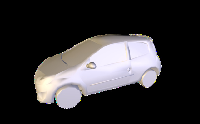 Vehicule 1 3D Model
