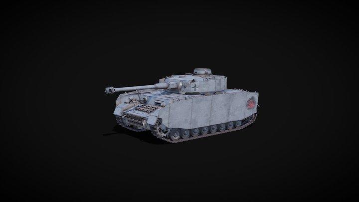 Pz.Kpfw.IV Ausf.H 3D Model