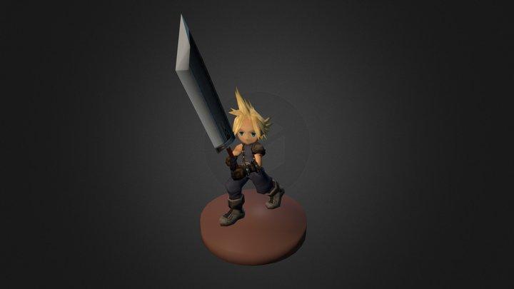 Cloud - Final Fantasy 3D Model