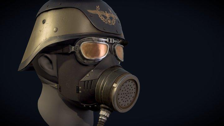 Wolfenstein RTC helmet 3D Model