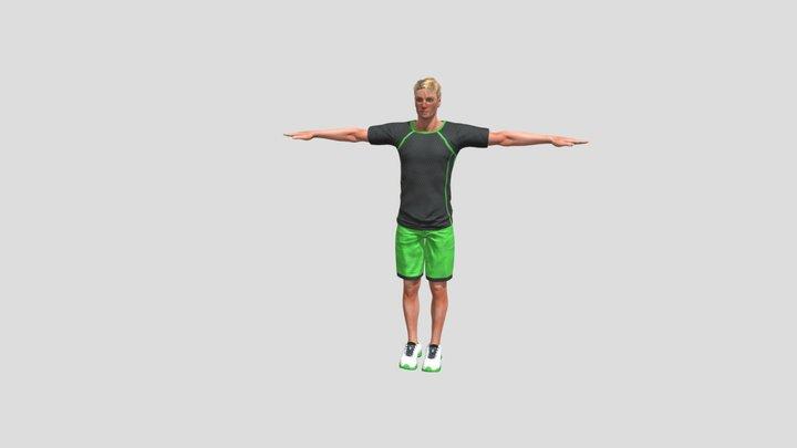 Oliver Sporty 3D Model