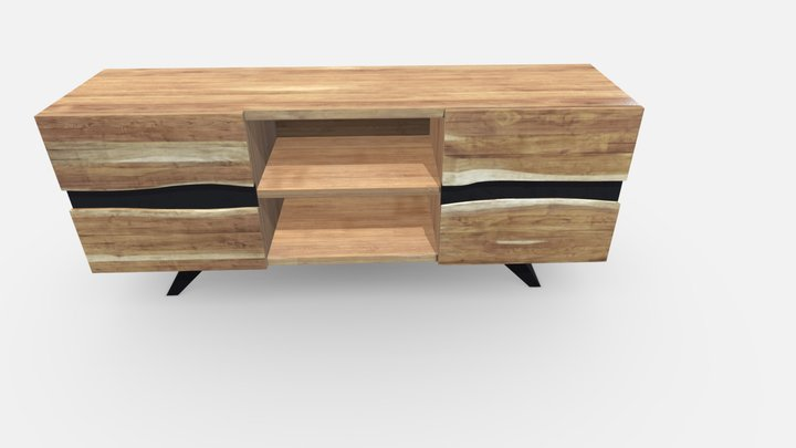 Kave Home - Uxia Tv cabinet 3D Model