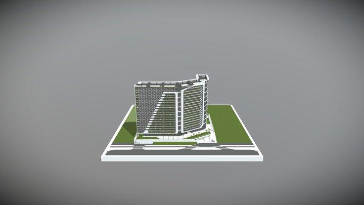 Maqueta Virtual Woha 3D Model
