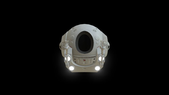 EVA Pod 3D Model