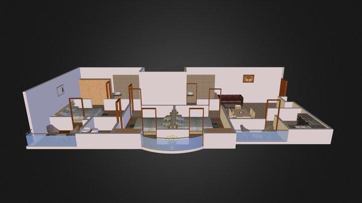 3 B H K Persp Obj File 3D Model
