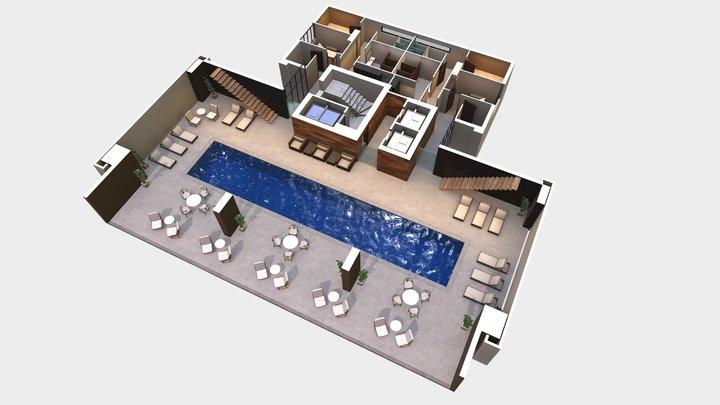 Amenities 3D Model